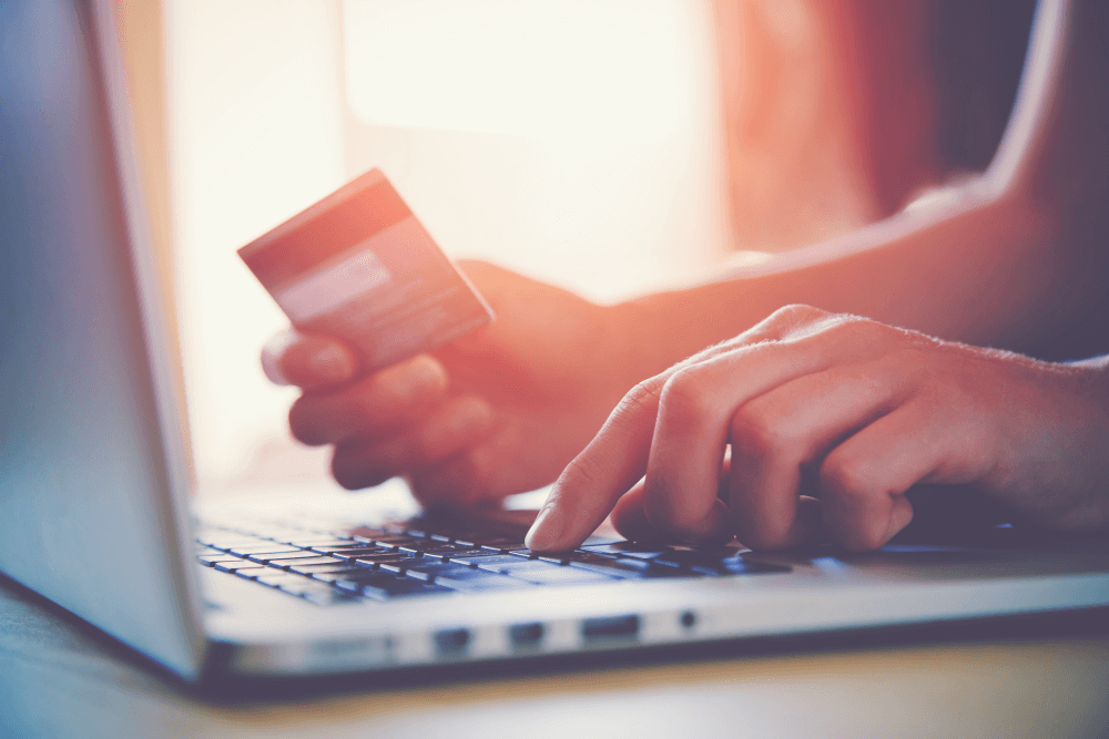credit card online shopping fees